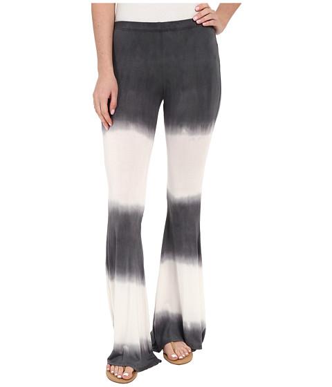 Imbracaminte Femei Culture Phit Elsie Tie-Dye Bell Bottom Pants CharcoalIvory