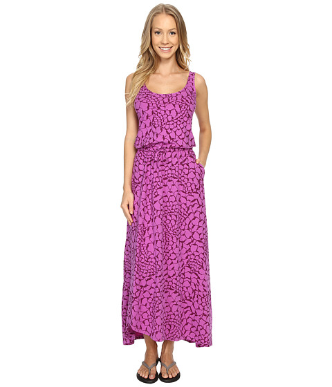 Imbracaminte Femei The North Face On The Go Maxi Dress Sweet Violet Organic Tonal Print (Prior Season)