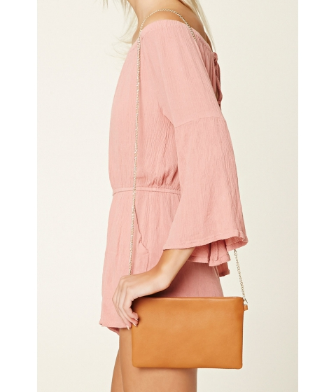 Imbracaminte Femei Forever21 Faux Leather Crossbody Tan