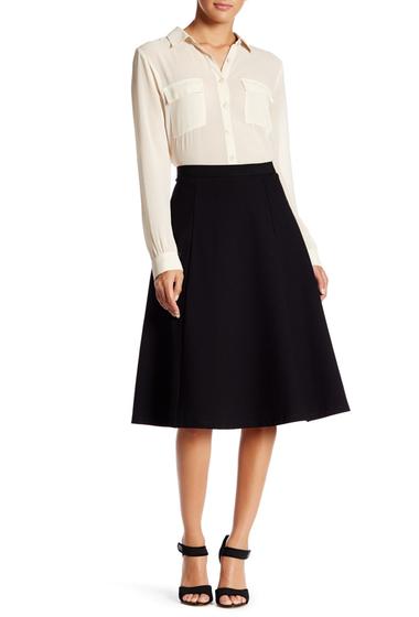 Imbracaminte Femei Bobeau Midi Flare Skirt BLACK