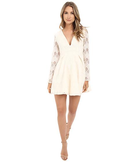 Imbracaminte Femei StyleStalker Empire Long Sleeve Dress Ivory