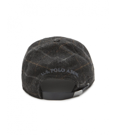 Accesorii Barbati US Polo Assn PLAID SUEDE CAP Black