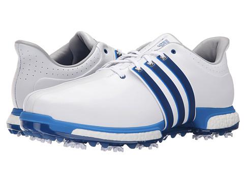 Incaltaminte Barbati adidas Tour360 Boost Ftwr WhiteEqt BlueShock Blue