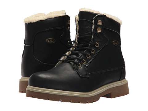 Incaltaminte Femei Lugz Regiment Hi Fleece WR BlackCream