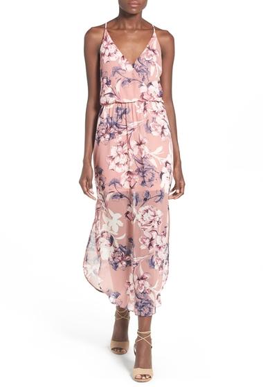 Imbracaminte Femei Lush Surplice Maxi Dress MAUVE FLOR