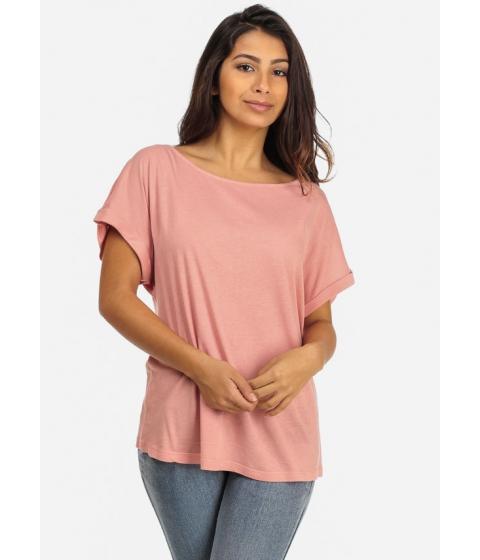 Imbracaminte Femei CheapChic Oversized Boyfriend Shirt (Pink) Multicolor