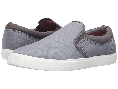 Incaltaminte Femei Crocs CitiLane Slip-On Sneaker SmokeWhite