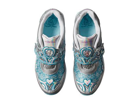 Incaltaminte Fete Stride Rite Disneytrade Anna amp Elsa AC (Little Kid) SilverTurquoise