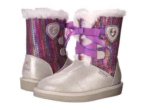 Incaltaminte Fete Stride Rite Disney Frozen Cozy Boot (Toddler) Silver