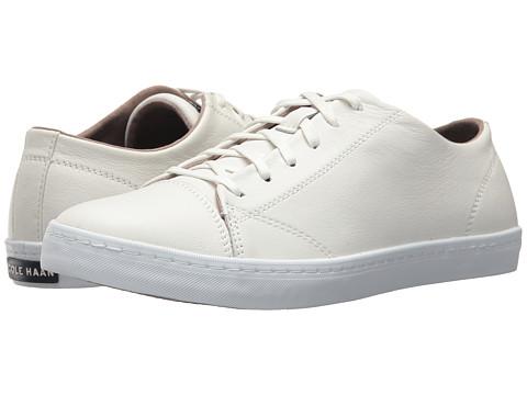 Incaltaminte Barbati Cole Haan Trafton Lux Cap Toe Ox II Optic White Leather