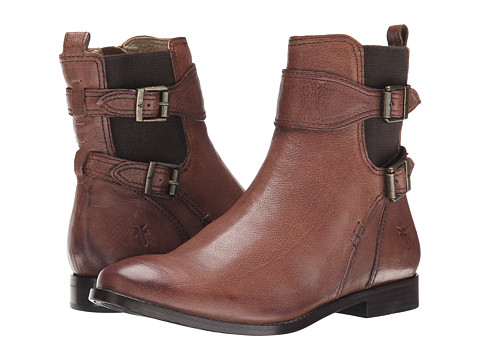 Incaltaminte Femei Frye Anna Gore Short Whiskey Buffalo Leather