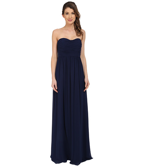 Imbracaminte Femei Donna Morgan Stephanie Strapless Chiffon Gown Midnight