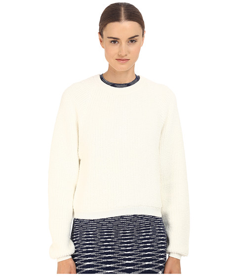 Imbracaminte Femei See by Chloe Knit Pullover with Back Zipper Off-White