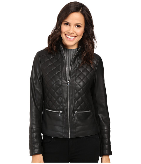 Imbracaminte Femei Kenneth Cole New York Quilted Rebel Jacket Black