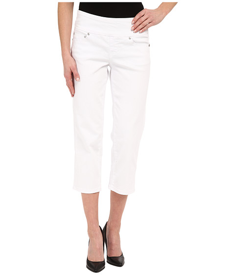 Imbracaminte Femei Jag Jeans Echo Crop in White Denim White