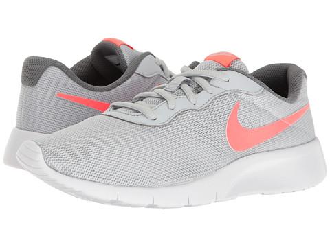Incaltaminte Fete Nike Tanjun (Big Kid) Pure PlatinumLava GlowCool GreyWhite