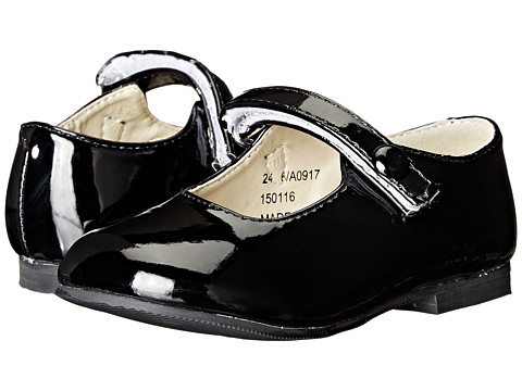 Incaltaminte Fete Amiana 6-A0917 (ToddlerLittle Kid) Black Patent PU