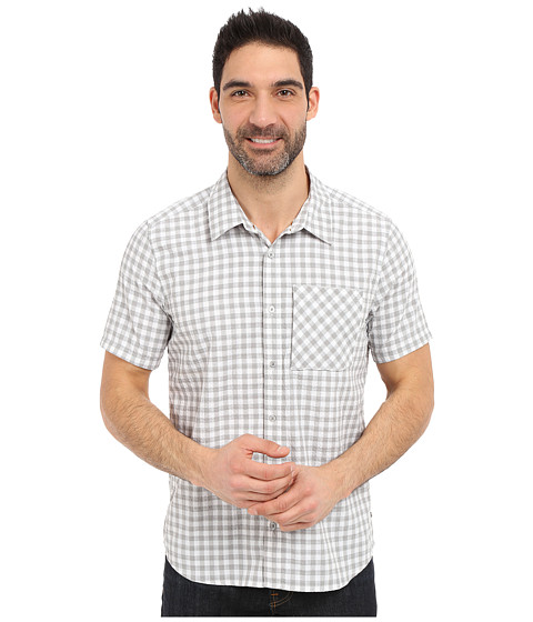 Imbracaminte Barbati ToadCo Pilotlight Short Sleeve Shirt Light Ash