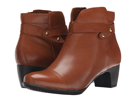 Incaltaminte Femei SoftWalk Ivanhoe Cognac Tumbled Leather