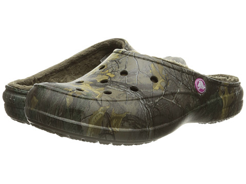 Incaltaminte Femei Crocs Freesail Realtree Lined ChocolateChocolate