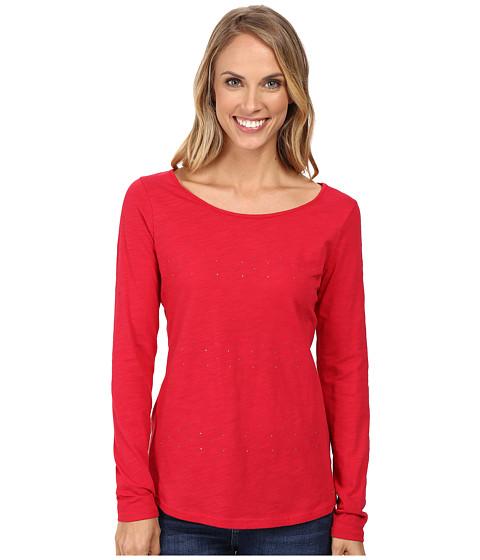 Imbracaminte Femei US Polo Assn Stone Slub Jersey T-Shirt Crimson