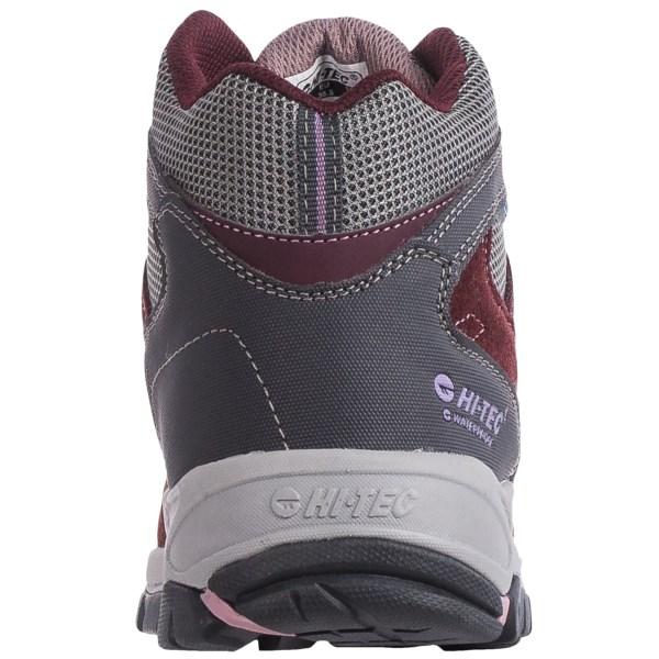 Incaltaminte Femei Hi-Tec Hi-Tec Logan Mid Hiking Boots - Waterproof PLUMCOOL GREYELDERBERRY (01)