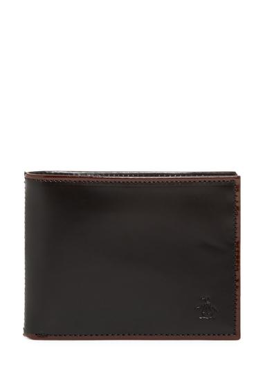 Accesorii Barbati Original Penguin Brush Off Bi-Fold Wallet BLK