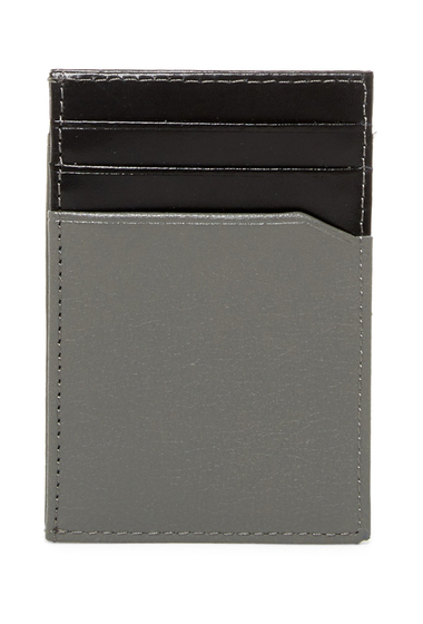 Accesorii Barbati Original Penguin Front Pocket Magnetic Clip Wallet FRONT POCKET MAGNETI GREY