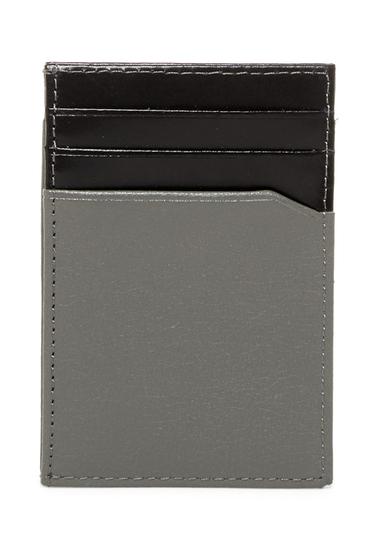 Accesorii Barbati Original Penguin Front Pocket Magnetic Clip Wallet FRONT POCKET MAGNETI GREY