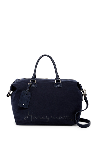 Barbati Deux Lux Smitten Overnight Bag NAVY