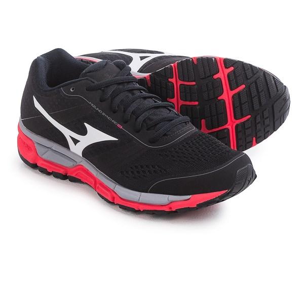 Incaltaminte Femei Mizuno Synchro MX Running Shoes BLACKWHITE (03)