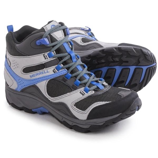 Incaltaminte Femei Merrell Kimsey Mid Hiking Boots - Waterproof CHARCOAL (01)