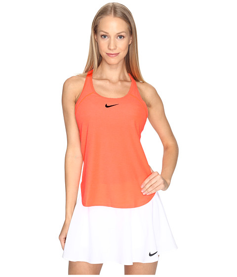 Imbracaminte Femei Nike Court Slam Breathe Tennis Tank Top Hyper OrangeBlack