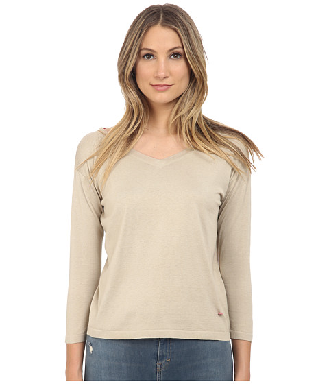 Imbracaminte Femei Armani Jeans Silk Cotton Blended on 14 Beige