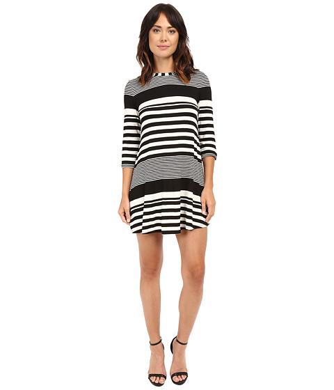 Imbracaminte Femei Christin Michaels Khloe Multi Stripe Dress IvoryBlack