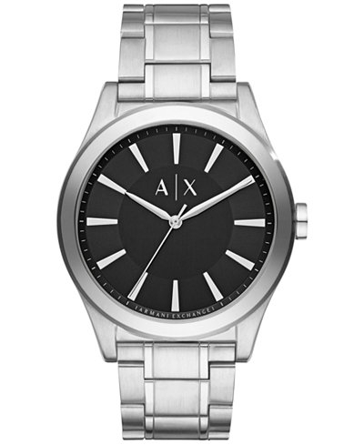 Ceasuri Barbati Armani Exchange Smart Men's Watch Black