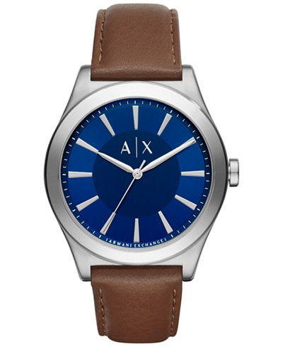 Ceasuri Barbati Armani Exchange Smart Blue Dial Men's Watch Blue