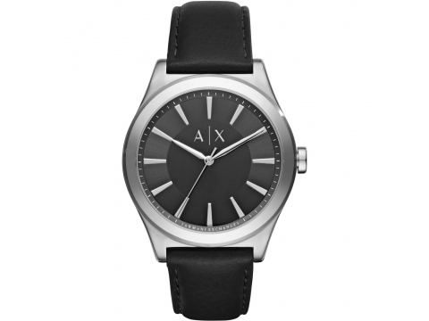 Ceasuri Barbati Armani Exchange Smart Black Dial Men's Watch Black Sunray