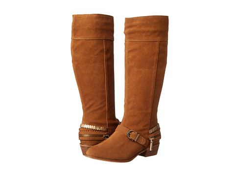 Incaltaminte Femei Chinese Laundry Solar Knee High Buckled Boot Camel Burnished