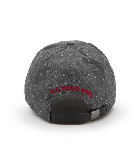 Accesorii Barbati US Polo Assn CHAMBRAY ADJ BB CAP Black
