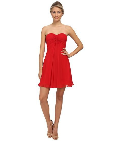 Imbracaminte Femei Faviana Short Chiffon Corset Dress 7650 Red