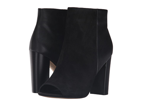 Incaltaminte Femei Sam Edelman Yarin Black Kid Suede LeatherModena Calf Leather