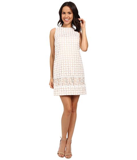 Imbracaminte Femei Vince Camuto Sleeveless Organza Shift Dress Ivory