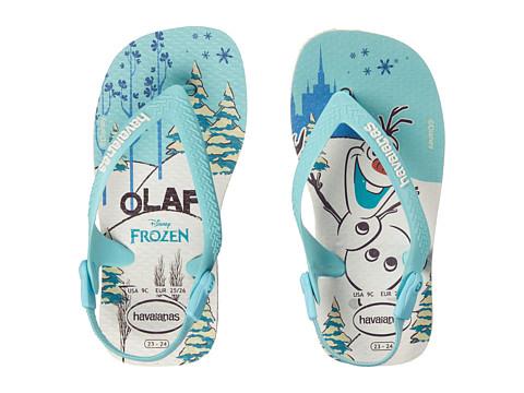 Incaltaminte Fete Havaianas Baby Frozen Flip Flops (Toddler) White