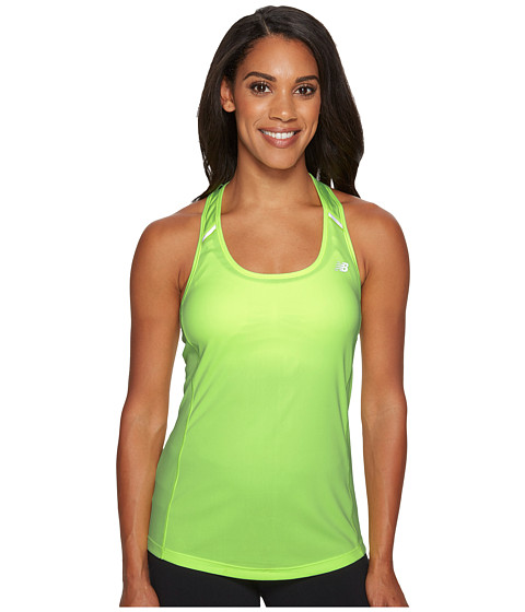 Imbracaminte Femei New Balance NB Ice Tank Top Bleached Lime Glo