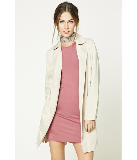 Imbracaminte Femei Forever21 Belted Wrap Jacket Tan