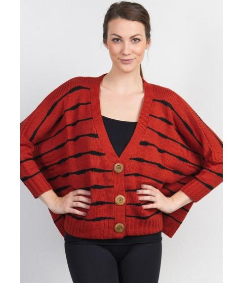 Imbracaminte Femei CheapChic Thick Knit Boxy Sweater Cardigan Multicolor