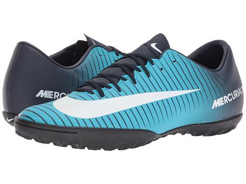 Incaltaminte Barbati Nike Mercurial Victory VI TF Thunder BlueGlacier BlueGamma Blue