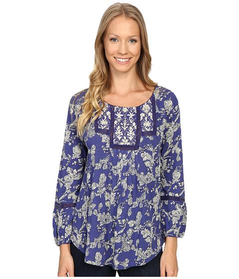 Imbracaminte Femei Lucky Brand Floral Bib Top Blue Multi