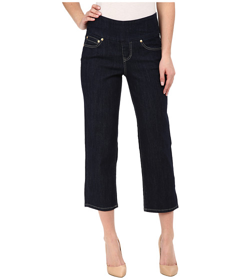 Imbracaminte Femei Jag Jeans Echo Crop in Comfort Denim Dark Shadow Wash Indigo